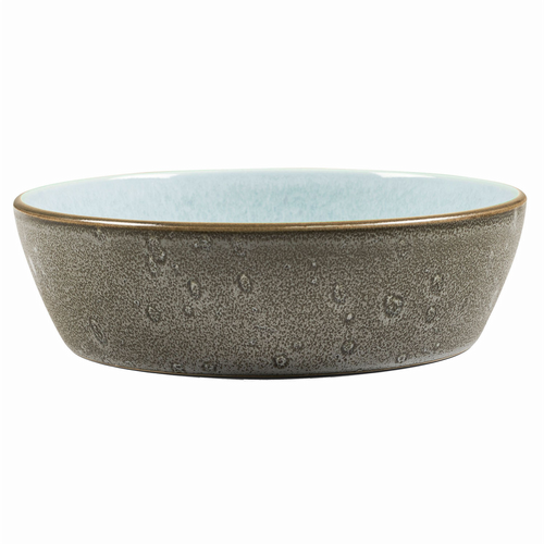 Stoneware - Bowl -Blue/Grey